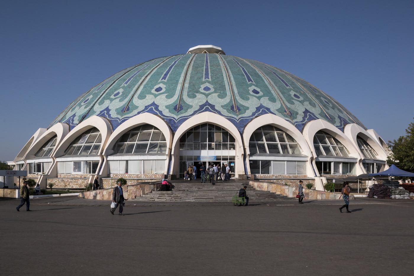 Chorsu Bazaar (1980). Tashkent, Uzbekistan