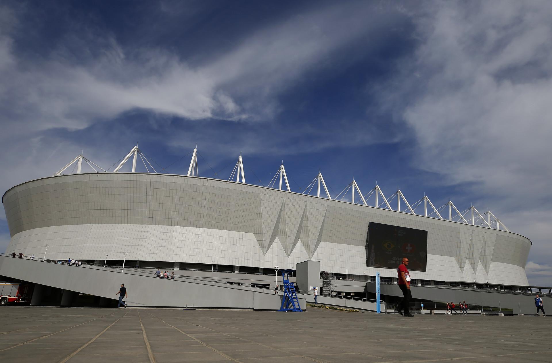 Stadion Rostov Arena di Rostov-na-Donu.