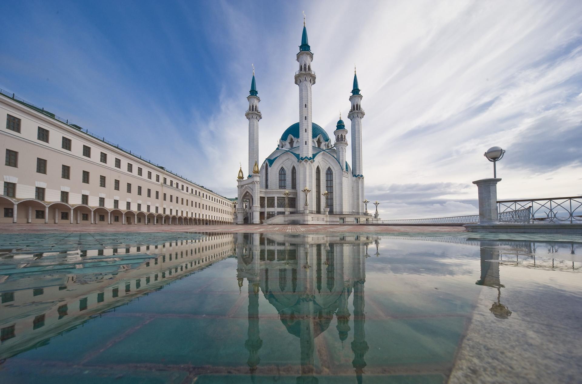 Masjid Kul Sharif di Kazan, Republik Tatarstan, Rusia.