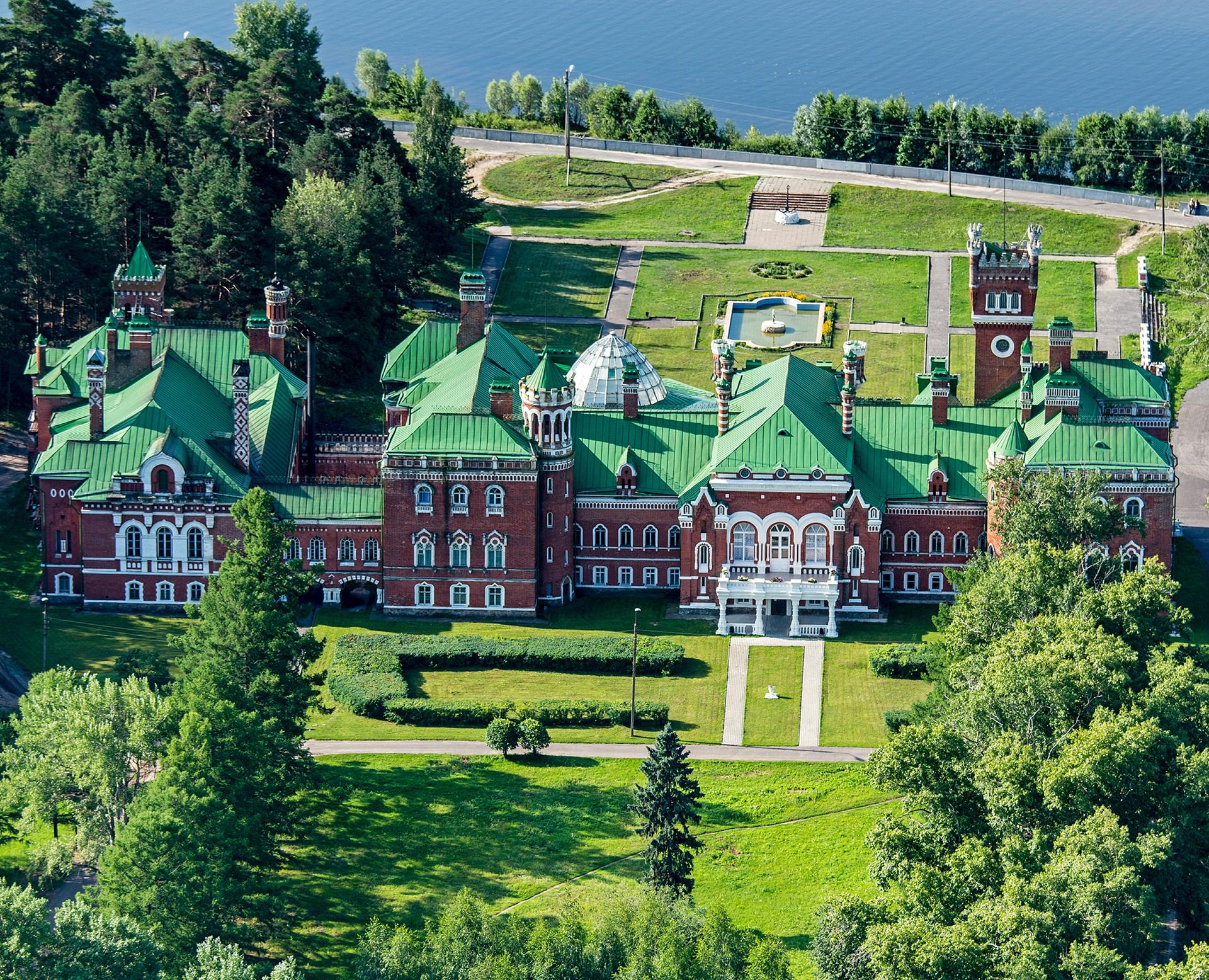 Kastil Sheremetevo di Republik Mari El, Rusia.