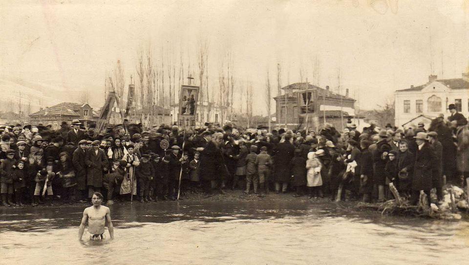 Водици во Кичево во 1936 година.