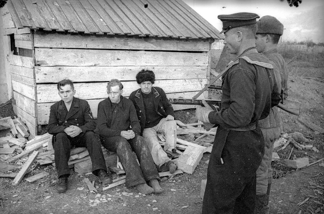 Заштита на германските заробеници