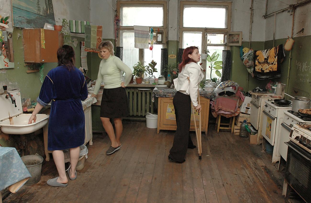 Un appartement communautaire dans la région de Voronej