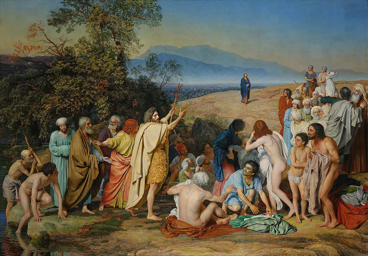 """Александар Андрејевич Иванов, """"Јављање Христа народу"""", 1837-1857."""