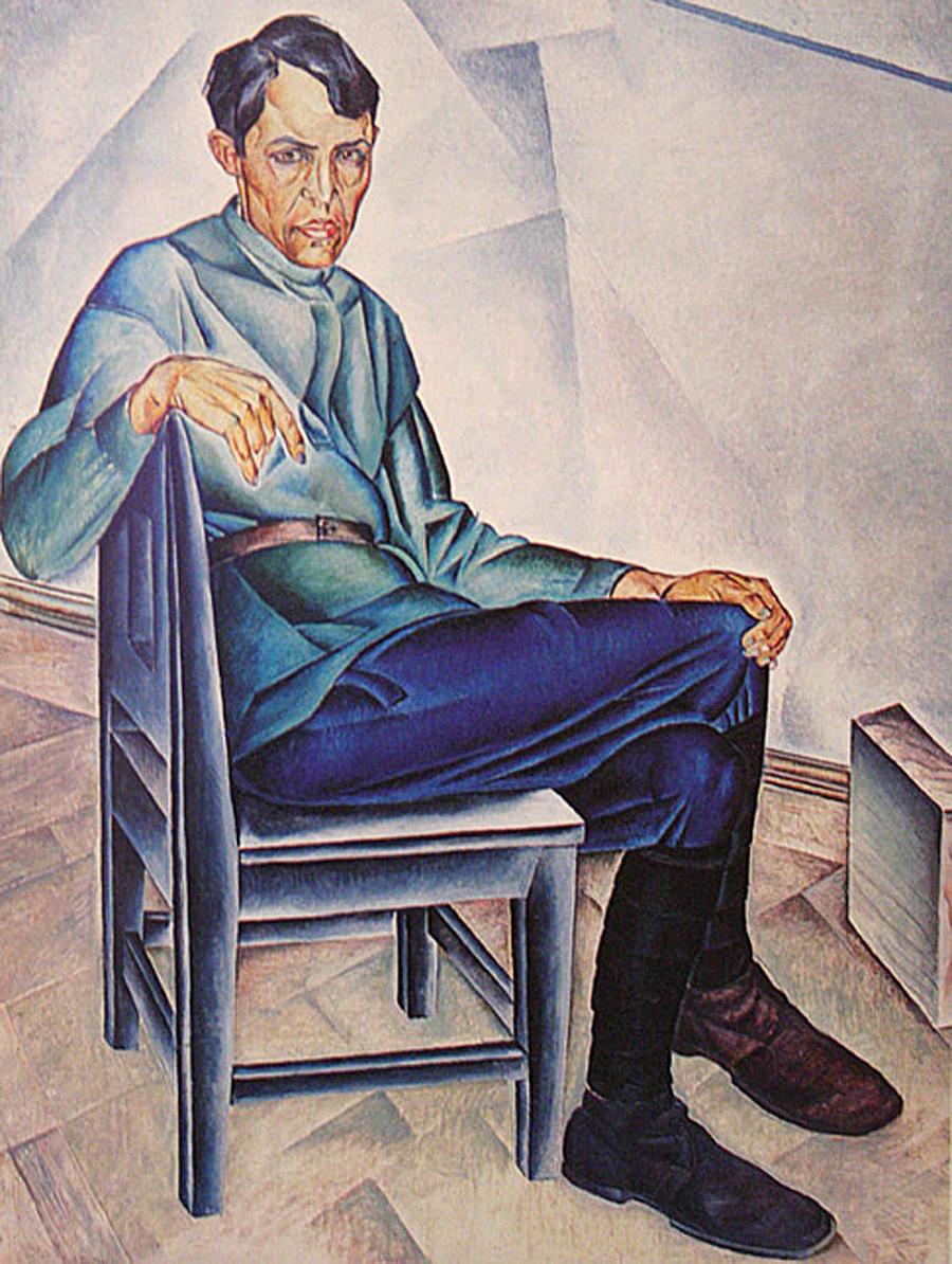 Portrait de K.A. Vialov, 1923