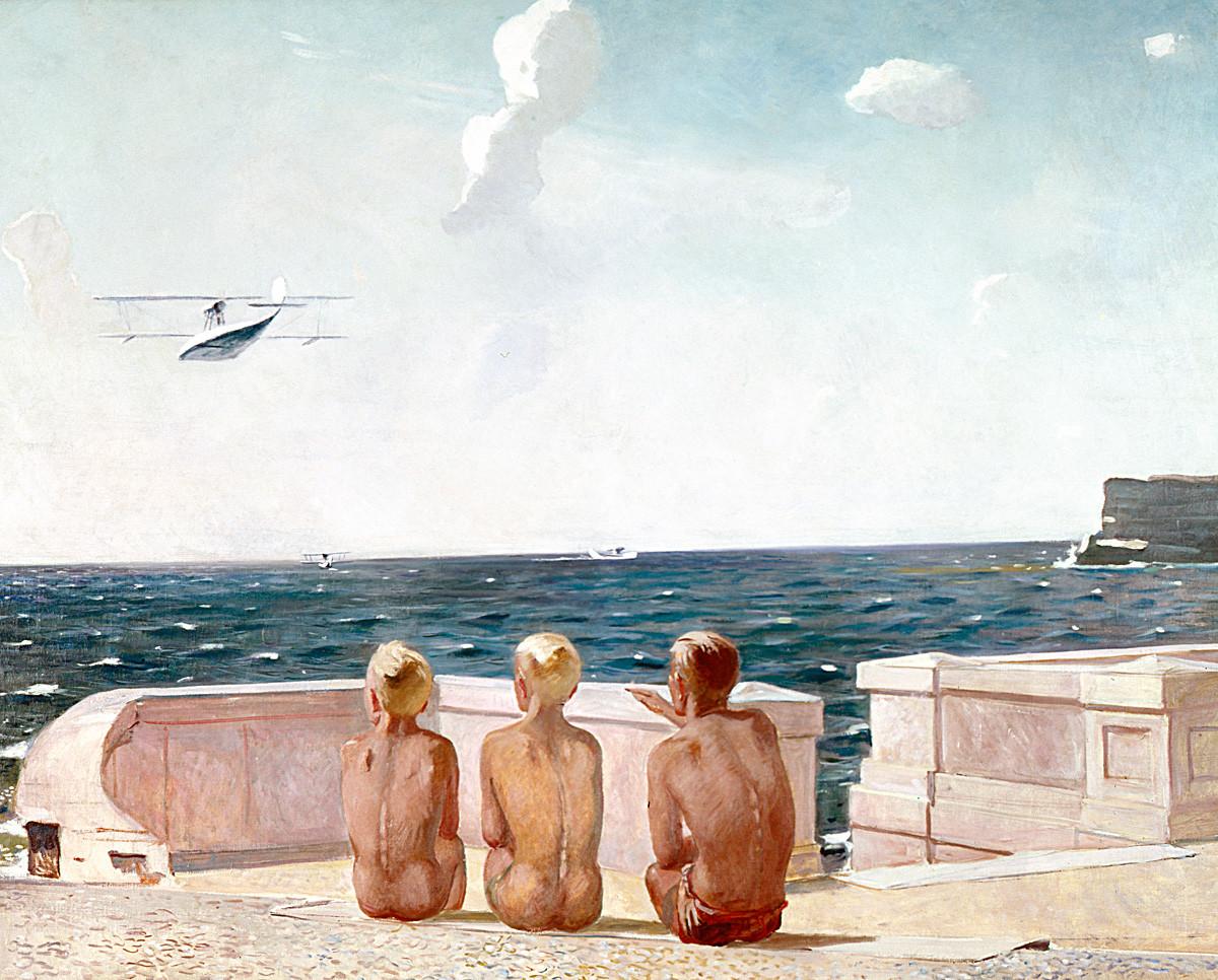 Les Futurs pilotes, 1937