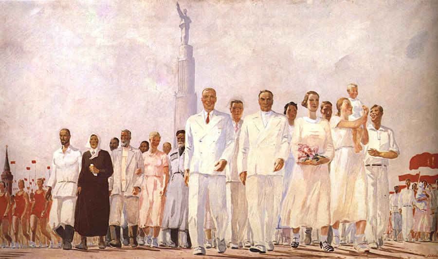 Les Stakhanovites, 1937