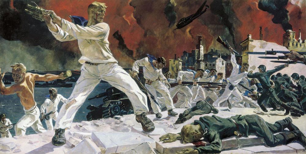 La défense de Sébastopol, 1942