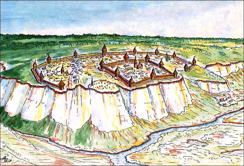 Belgorodska trdnjava, ena od utrdb na obrambni liniji
