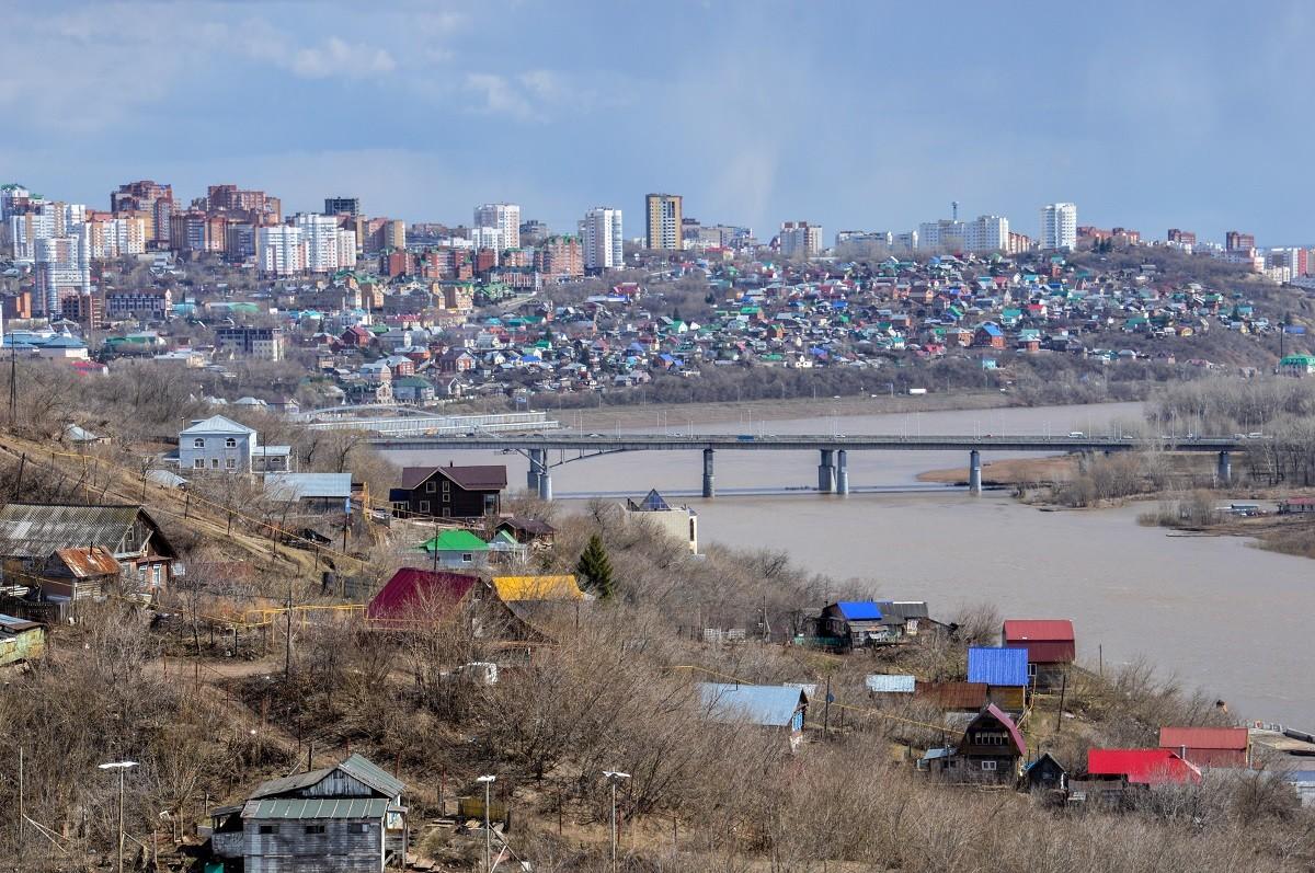 Oufa, capitale du Bachkortostan, république frontalière du Kazakhstan.