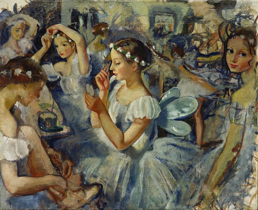 Zinaïda Serebriakova. Les Filles Sylphides (Ballet de Chopin), 1924.