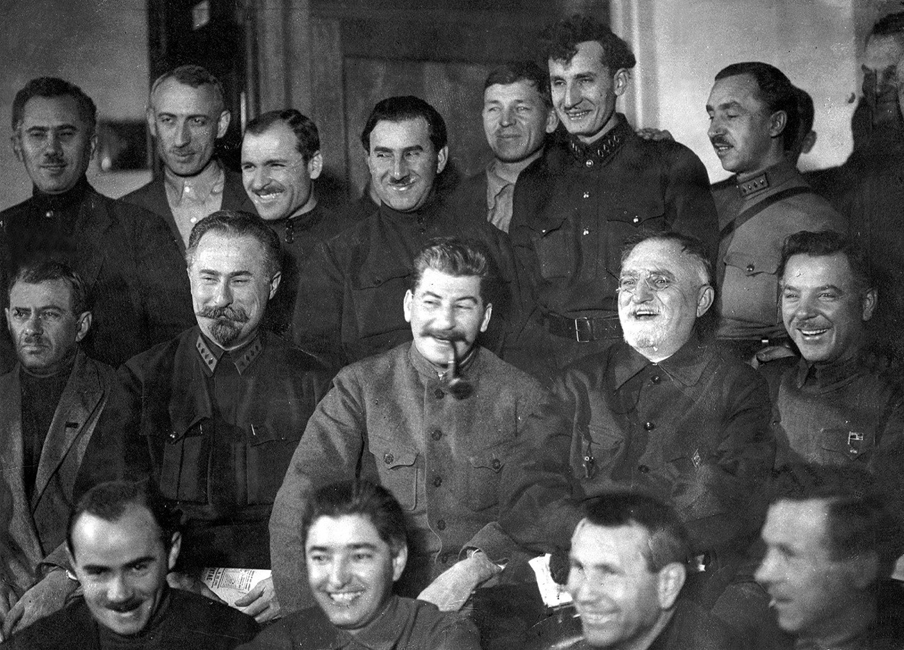 Josef Stalin auf einem Parteitag der KPdSU, 1927