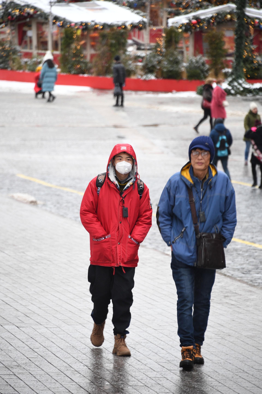 Туристи од Кина во Москва