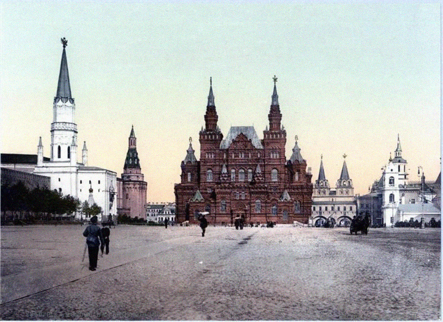 Червен площад, 1900 г.