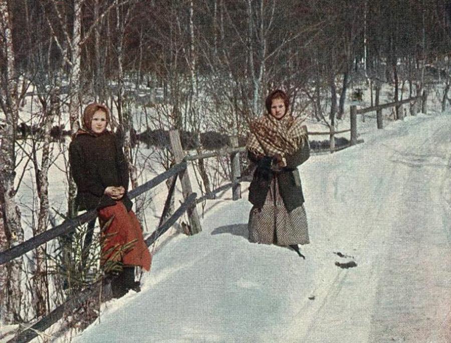 Huérfanos. 1905.
