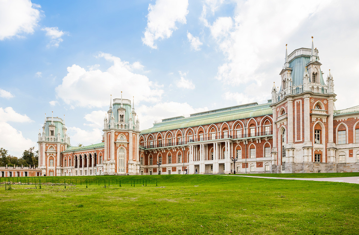 Bivša ljetna rezidencija Katarine Velike sada je oaza zelenila u prostranom južnom dijelu Moskve.