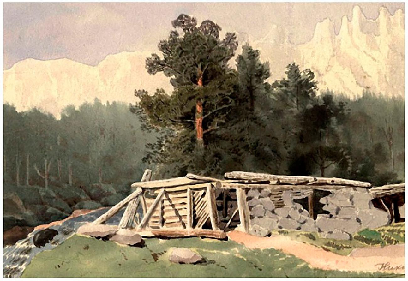 Рисунок вел. кн. Николая Александровича