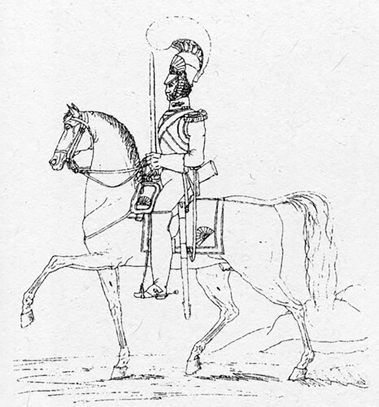 ニコライ1世の作図