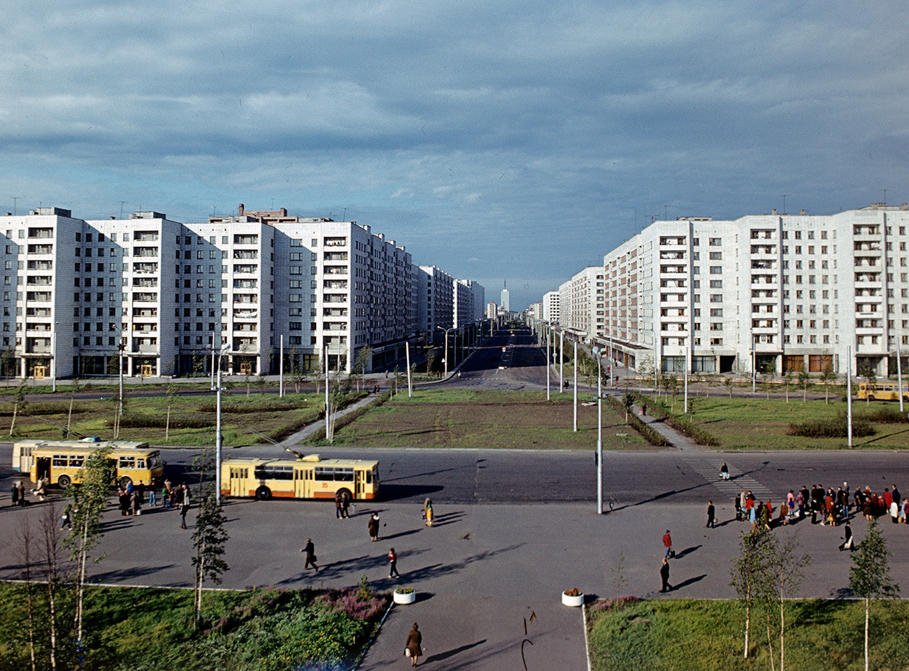 Engels Str., Arkhangelks, Russia