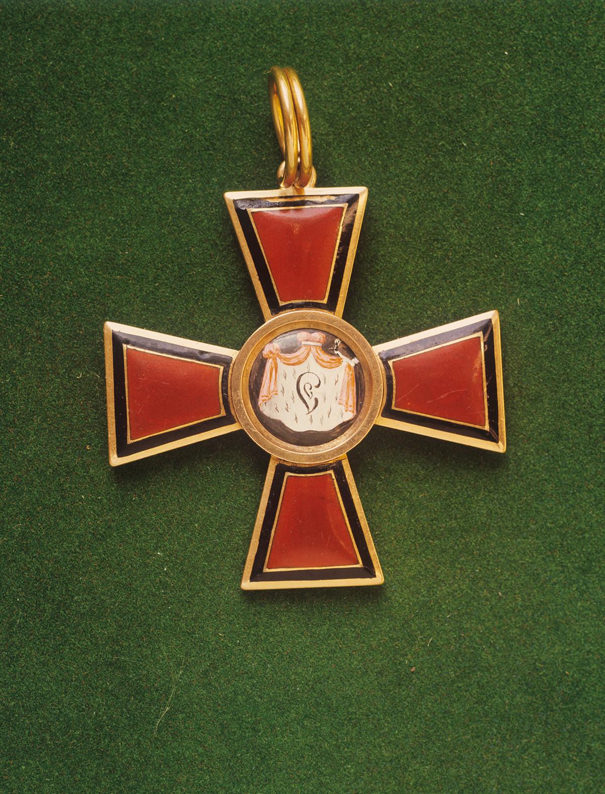 Знак Ордена светог Владимира првог степена.