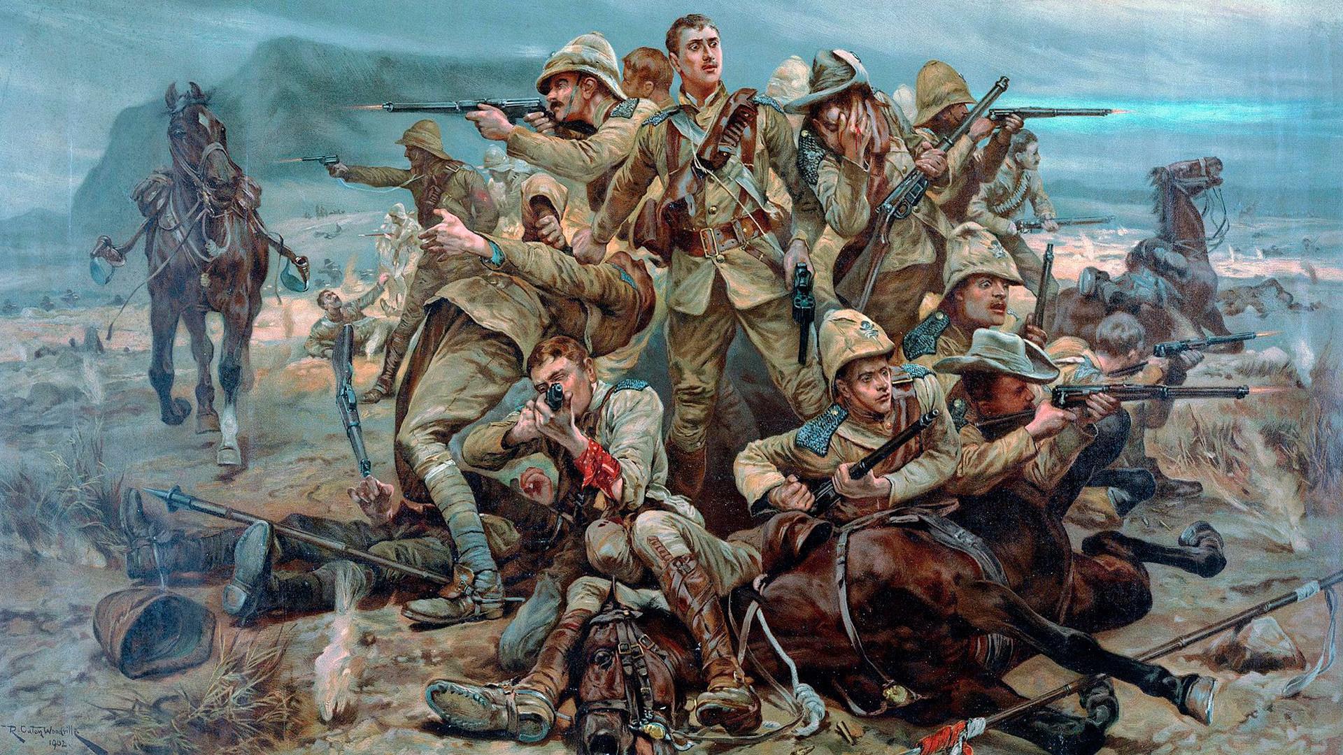 17 улански полк во Битката кај Модерфонтејн