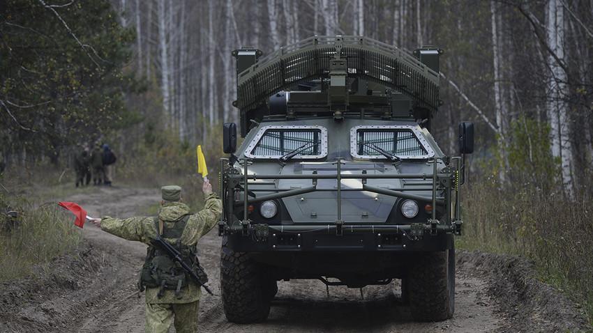 MDR Listva na vajah strateških raketnih sil, 2017