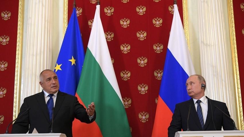 Бојко Борисов и Владимир Путин, мај 2018.