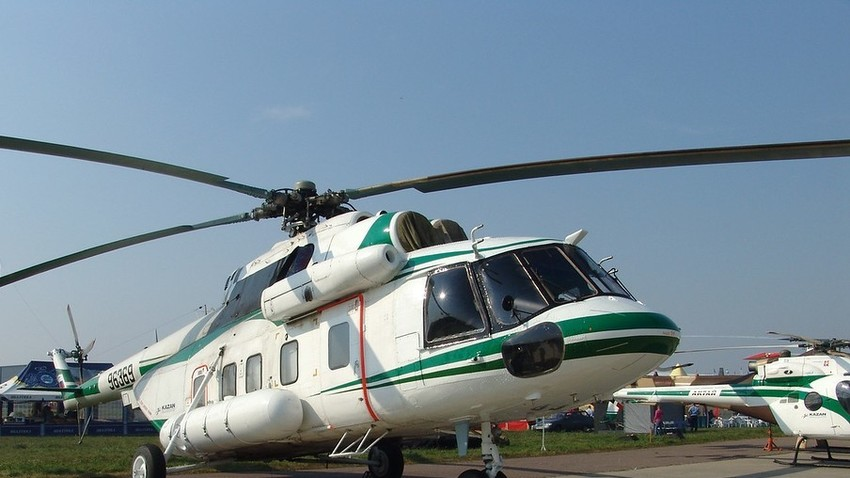 Helicóptero ruso Mi-171.