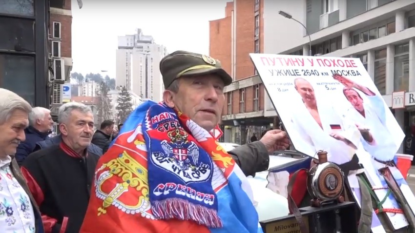 Милован Милутиновић кренуо за Москву