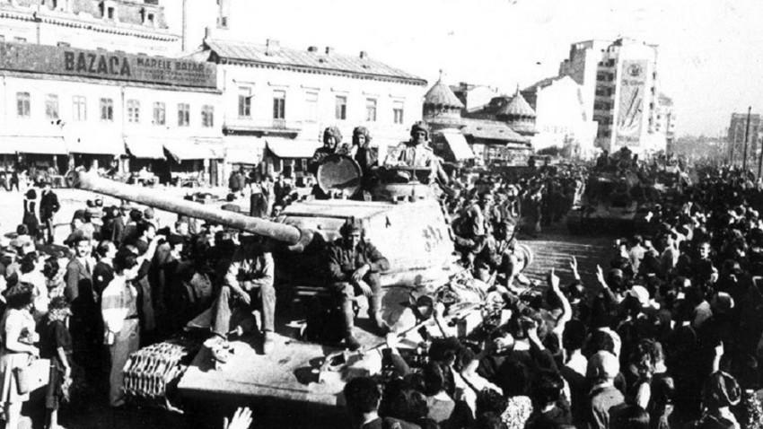 Sovjetska vojska u Bukureštu 31. kolovoza 1944.