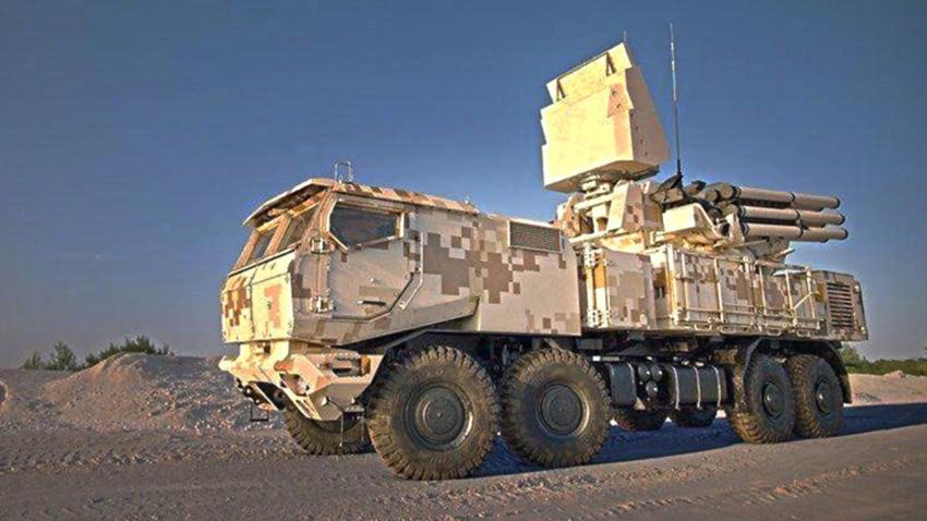 Идејна верзија ПВО система Панцир-СМ