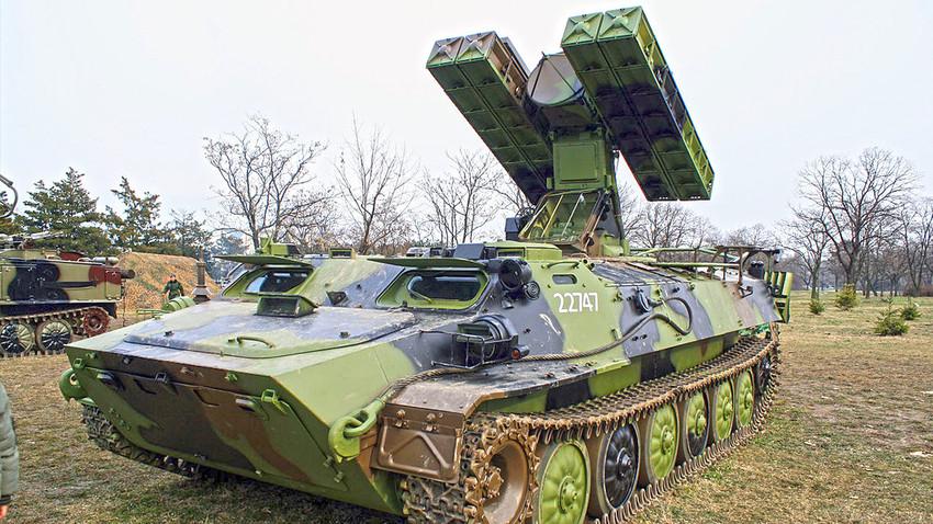 Стрела-10 у наоружању Војске Србије