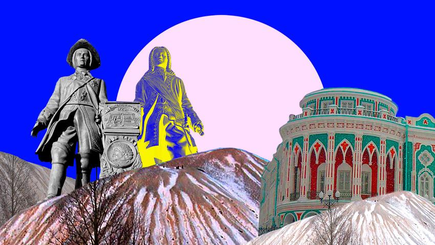 Spomenik Tatiševu in de Genninu, Zimski rudarski hrib (terikon), Hiša Sevastjanova
