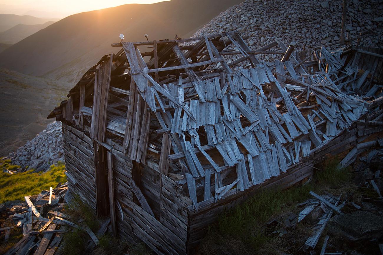 Taborišče Butugičag (prevedeno iz evenščine: »Dolina smrti«) na Kolimi