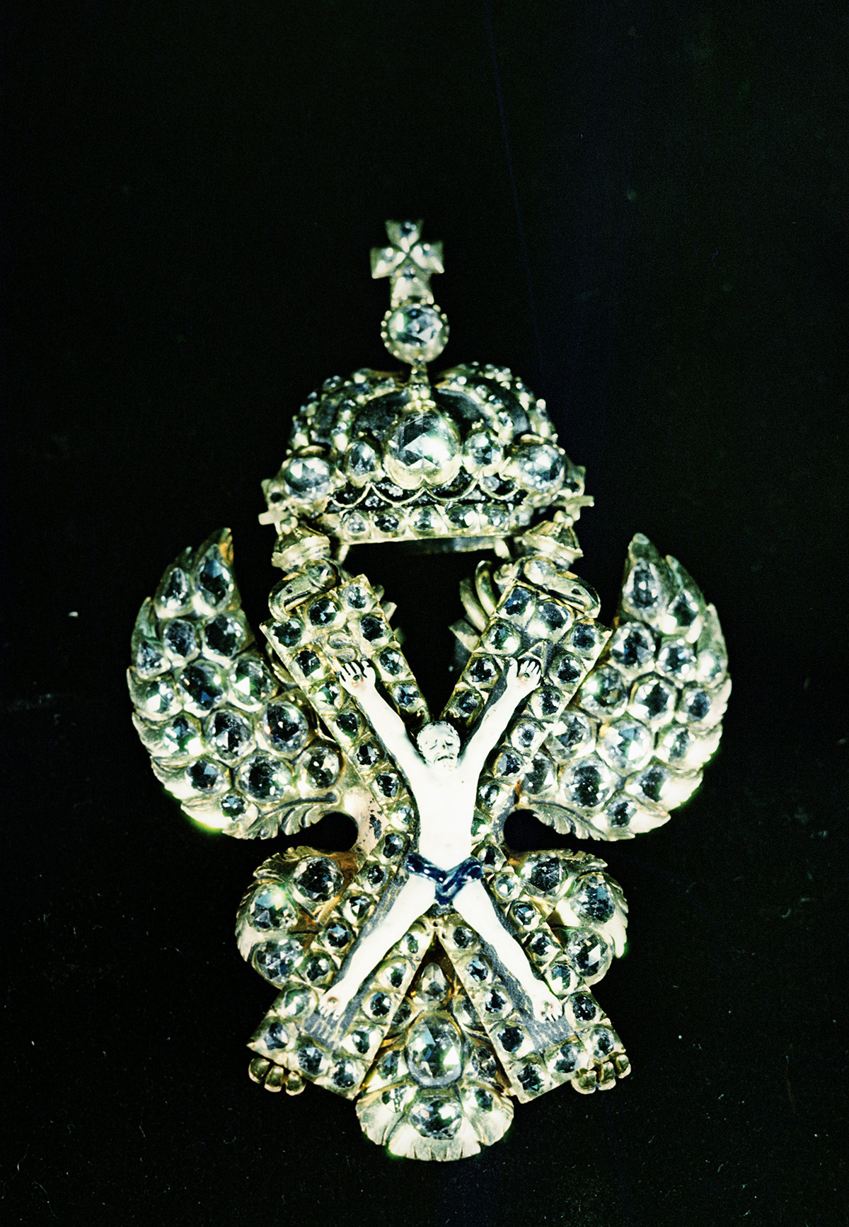 The Badge of the Order of St. Andrew.