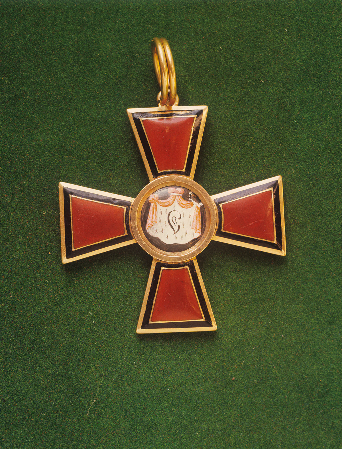 The Cross (Badge) of the Order of Saint Vladimir, 1st class.