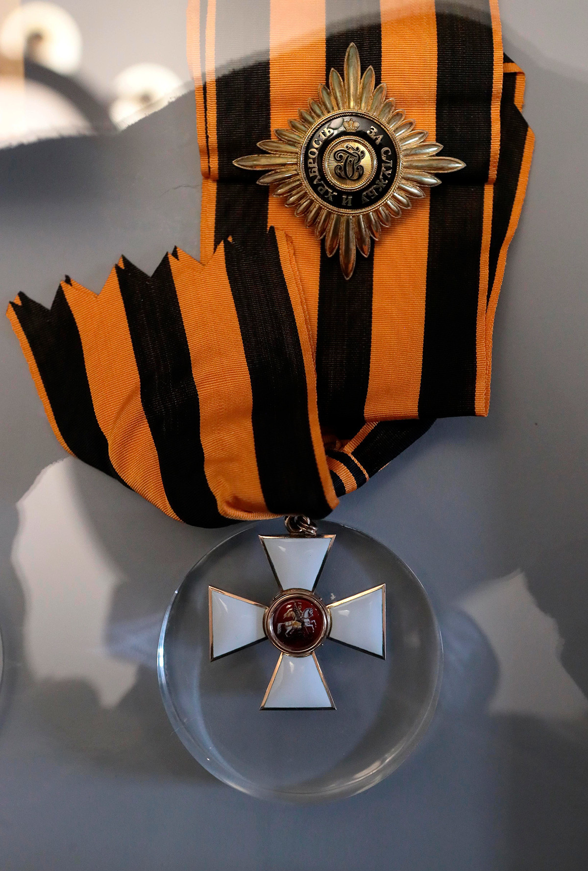 The Star and the Cross (Badge) of the Order of St. George, 1st class