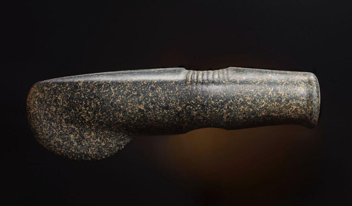 イストラ地区で発見された石斧