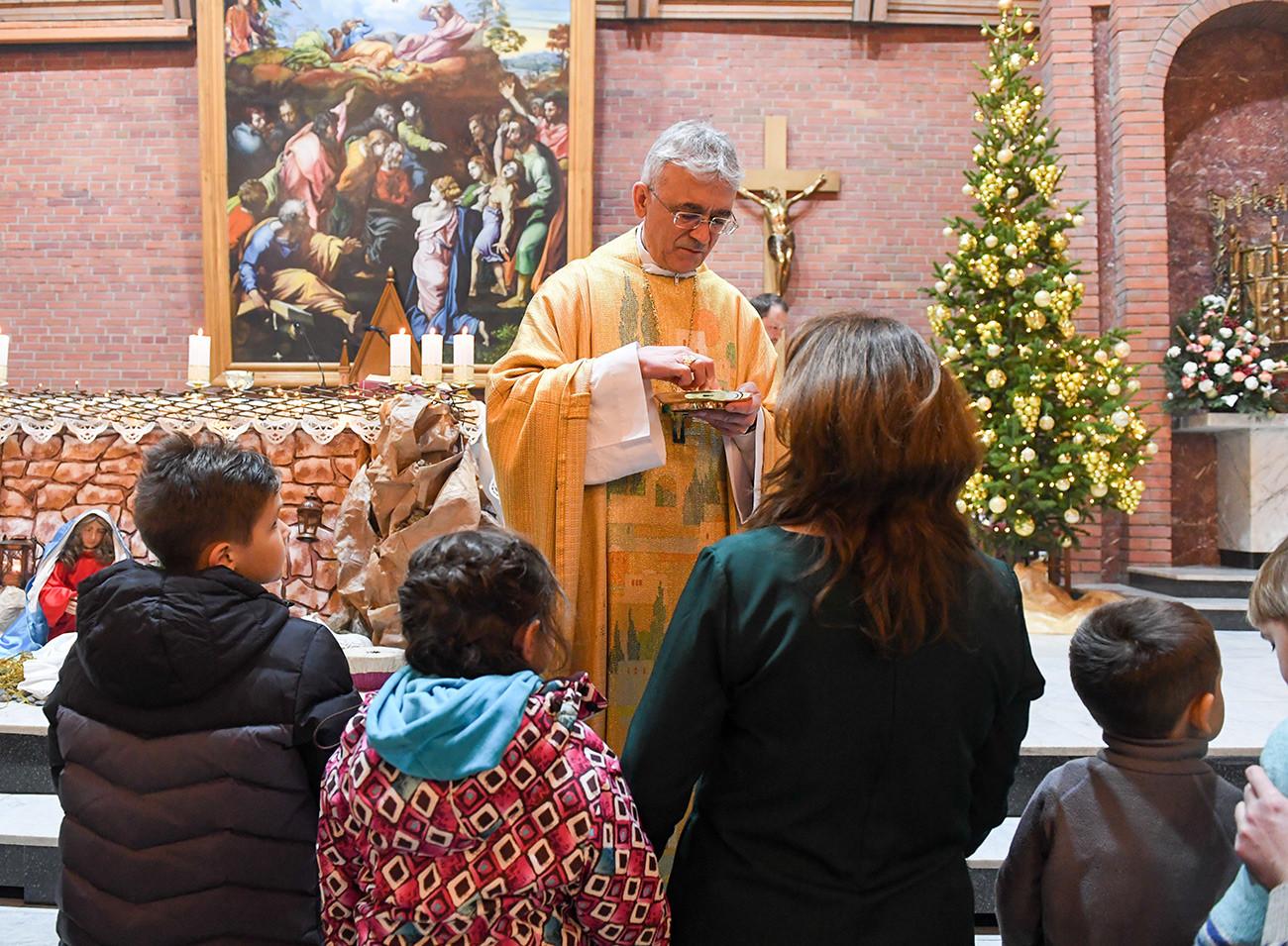 カトリック教の協会におけるクリスマスの祝い、ノヴォシビルスク