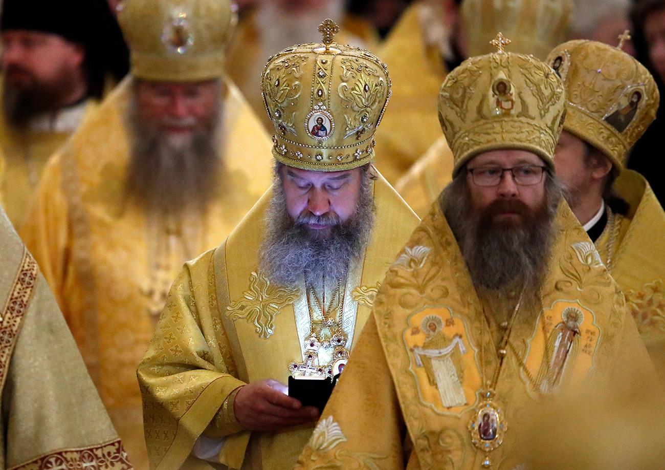 救世主ハリストス大聖堂における典礼