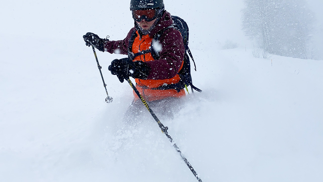 Powder day in Rosa Khutor