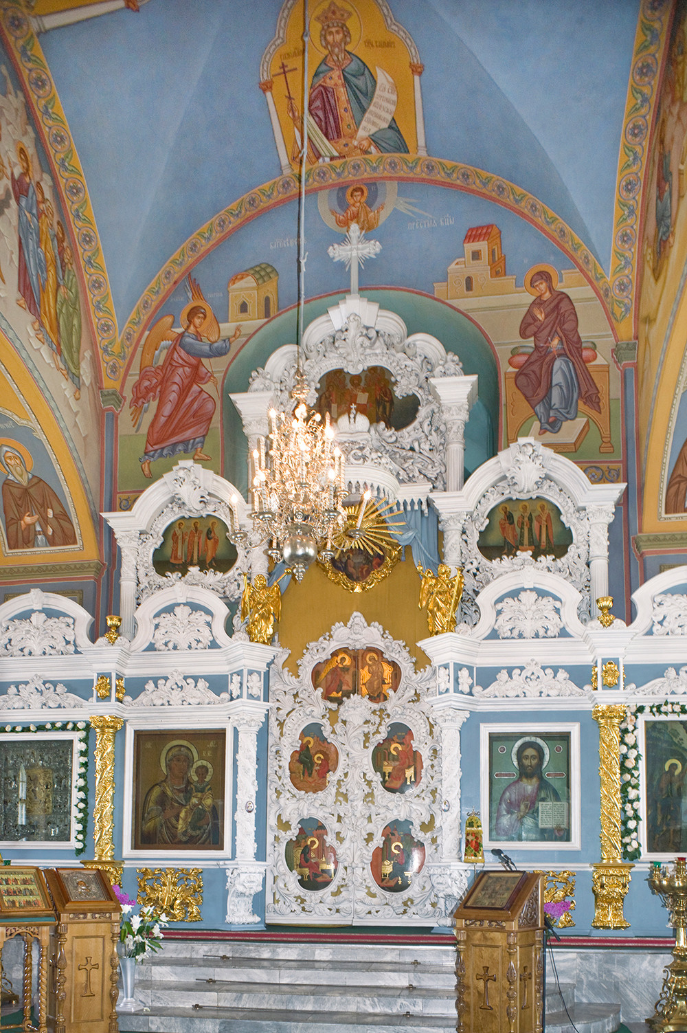 Epiphany Cathedral. Interior of