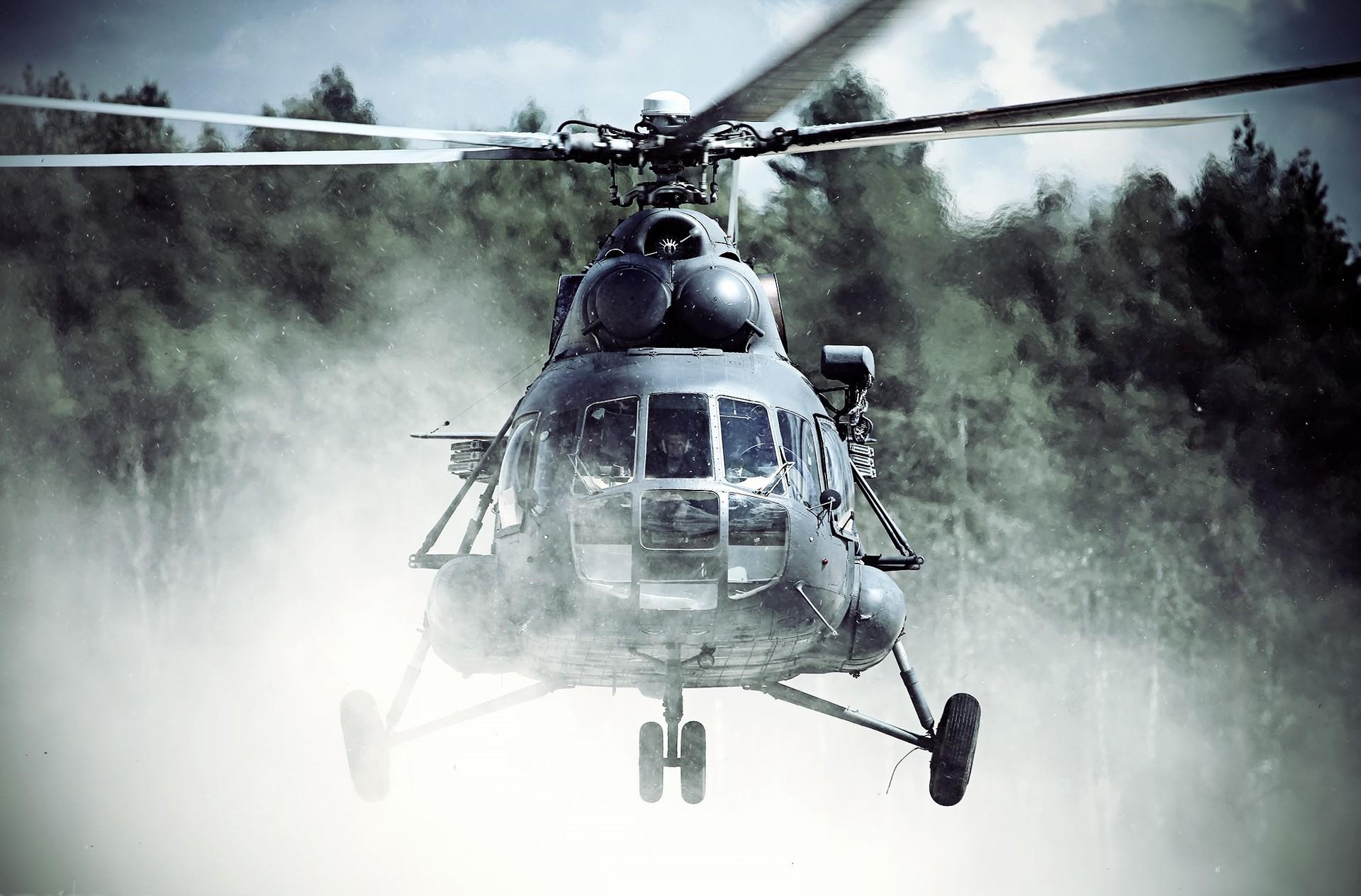 Helicóptero ruso Mi-8.