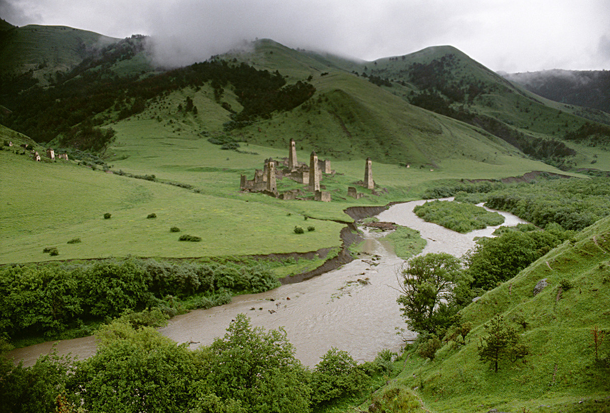 Torguim, un village  ingouche dans la vallée de l'Assa