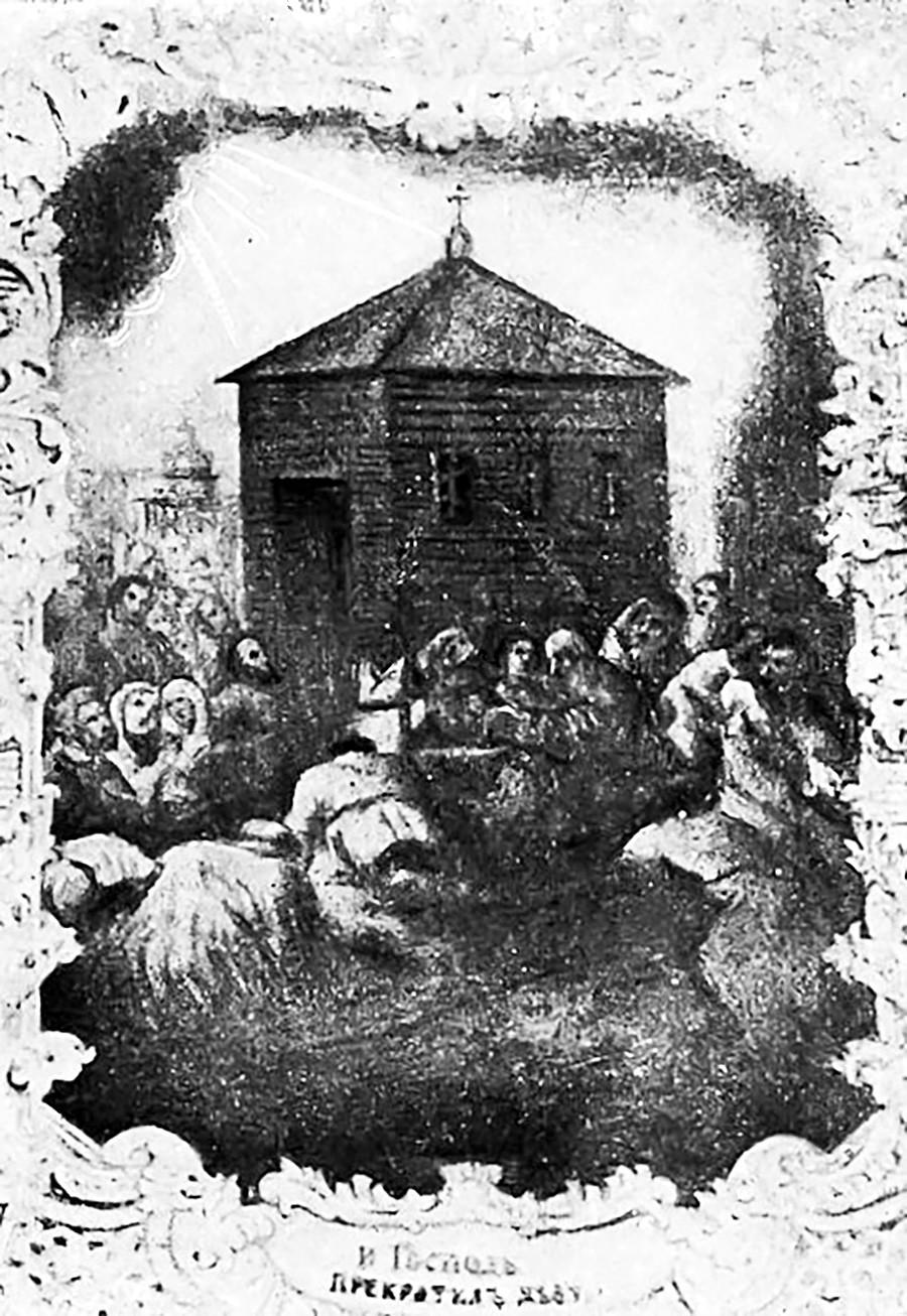 ヴォログダの救世主教会の建設