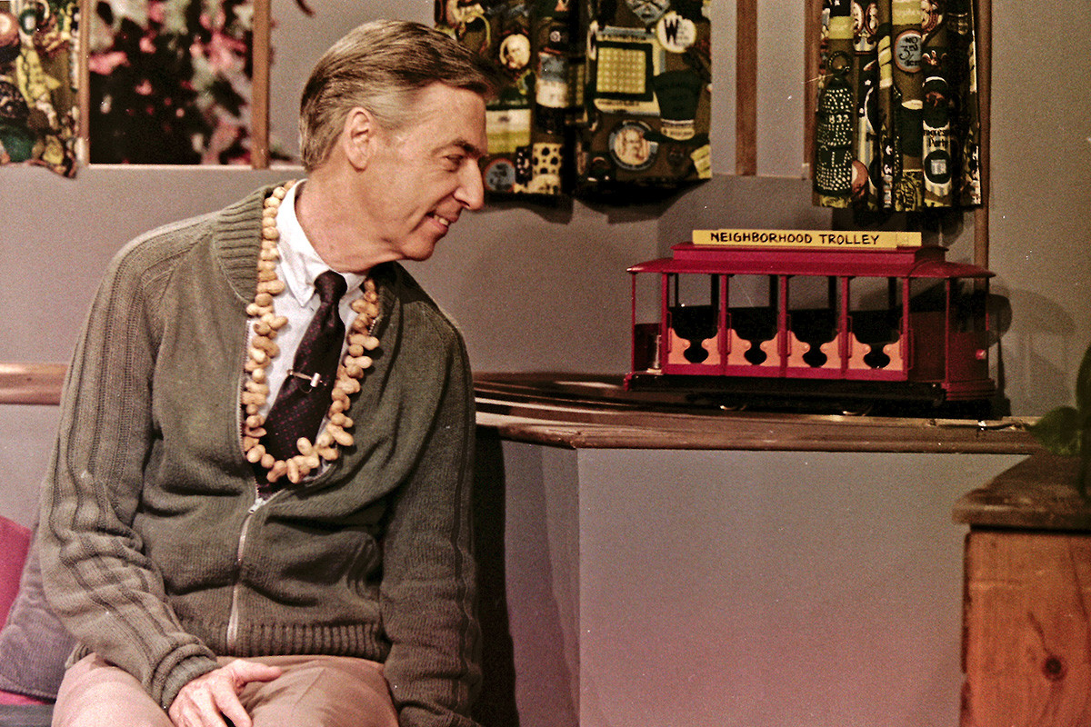 Fred Rogers taping