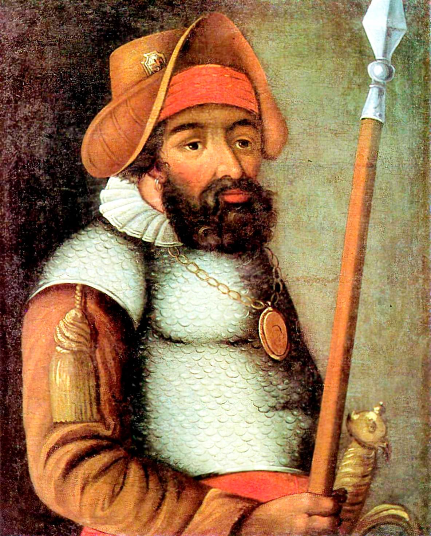 Ермак. Парсуна 17го века