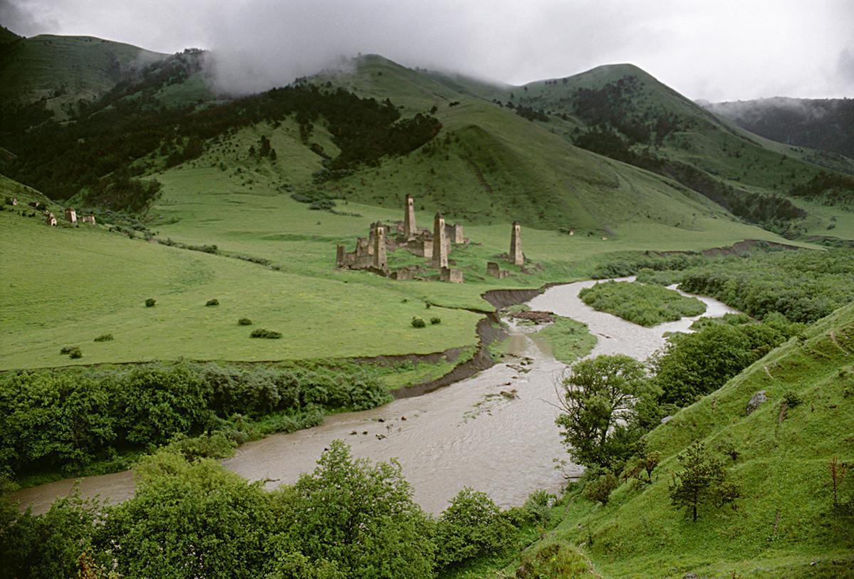 Torguim, vilarejo inguche no vale de Assi, bastante prospero nos séculos 16 e 17