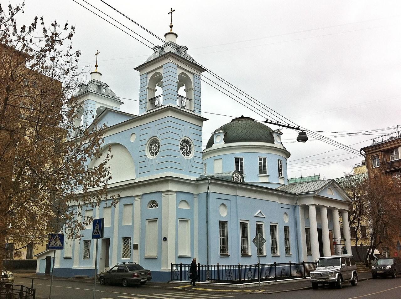 Église de la dormition de la Vierge sur Moguiltsy