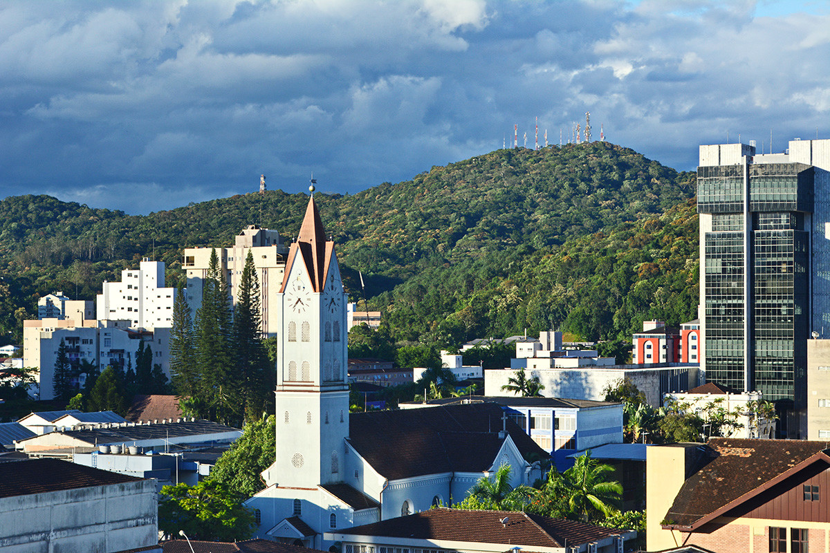 The Brazilian city of Joinville